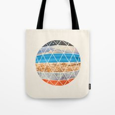 Eco Geodesic  Tote Bag
