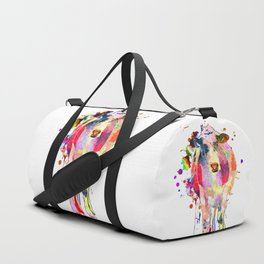 Colored Cow Duffle Bag