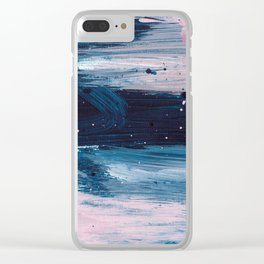 Blush Chic 1 Clear iPhone Case