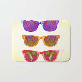 Sunglasses In Paradise Bath Mat