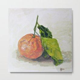 Sweet clementin Metal Print