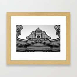 Sant'Agnese in Agone  Framed Art Print