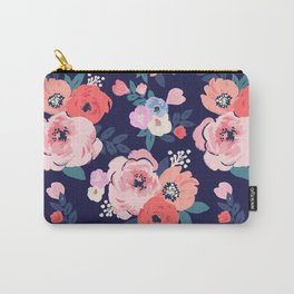Aurora Floral Carry-All Pouch