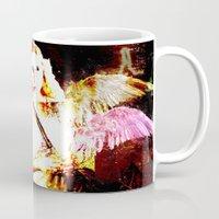 angels Mugs featuring Angels by Maya Kechevski