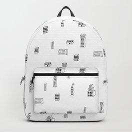 Urban City Buildings Backpack