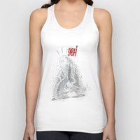 yeti Tank Tops featuring Yeti by Srg44