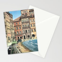 Il mare in paese Stationery Cards