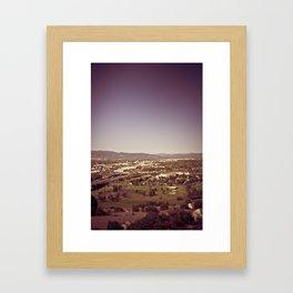 medford oregon Framed Art Print