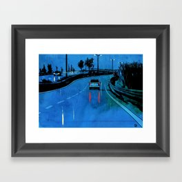 Nightscape 03 Framed Art Print