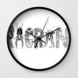 Fragrant Decay Wall Clock