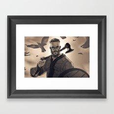 Ragnar Lothbrook Framed Art Print