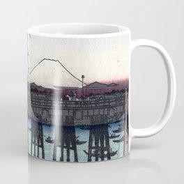 Ryōgoku in the Eastern Capital by Hiroshige Coffee Mug