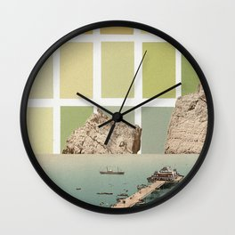 square sky Wall Clock