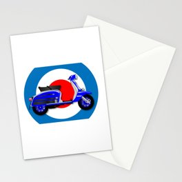 60s Scooter and UK Symbol Stationery Cards