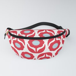Joy collection - Red flowers Fanny Pack