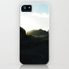 Topanga Canyon iPhone Case