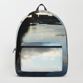 Scottish Photography Series (Vectorized) - Where the Kelvin Meets the Clyde Backpack