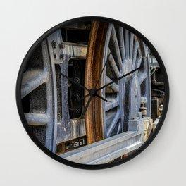 Locomotion wheels Wall Clock