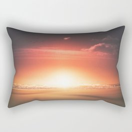 When the day breaks Rectangular Pillow