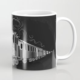 A nostalgic train Coffee Mug