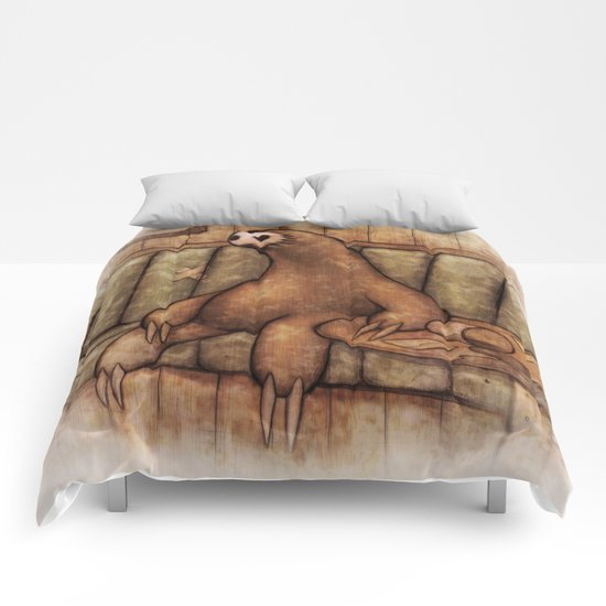 Drunk Sloth Comforters