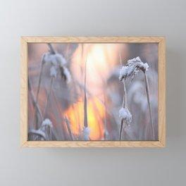 Sunny Winter Day #decor #buyart #society6 Framed Mini Art Print