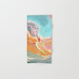 Fantasy Dragon and Clouds Hand & Bath Towel
