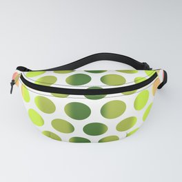 Colorful Dots Pattern - Polka Dots - Pattern Design 2 - Pink, Yellow, Green, Peach Fanny Pack