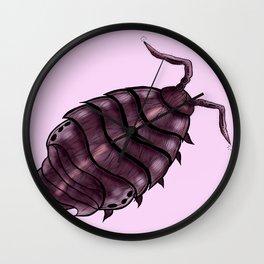 Wood louse Wall Clock