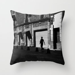 Walking / Street Photography Throw Pillow
