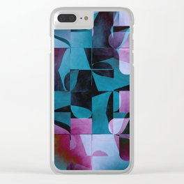 Pattern 2017 004 Clear iPhone Case