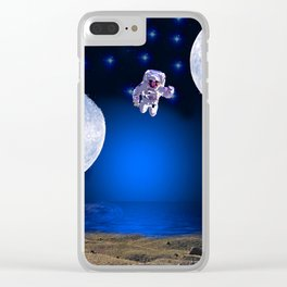 NOT EARTH Clear iPhone Case