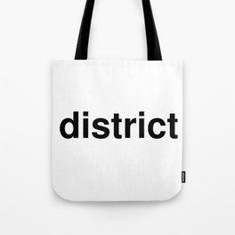 district Tote Bag