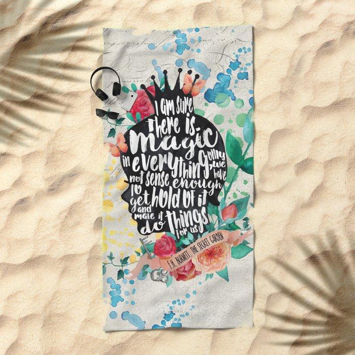 Secret Garden - Magic Beach Towel