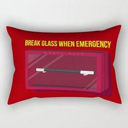 magic wand emergency Rectangular Pillow