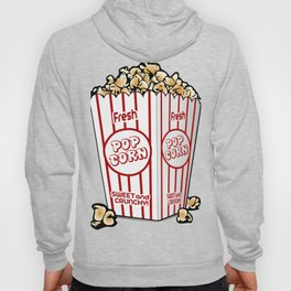 Cartoon Sweet Popcorn Hoody