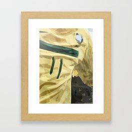 Neymar, jersey, Brasil, brazilian football player, striker, Seleção Brasileira Futebol, Pentacampeão Framed Art Print