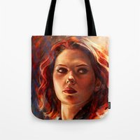 battlefield Tote Bags featuring Battlefield by Five-Oclock