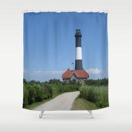 LightHouse Fire Island Shower Curtain