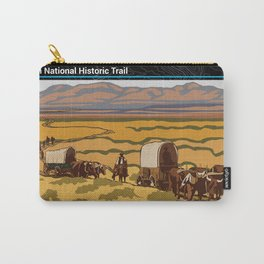 Vintage Poster - Oregon National Historic Trail (2018) Carry-All Pouch
