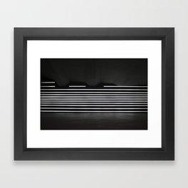 Welcome To Lights Framed Art Print