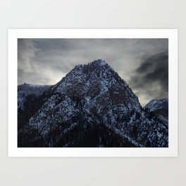 Sunset in White River National Forest Art Print