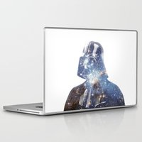 vader Laptop & iPad Skins featuring Vader by O   N   E