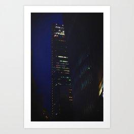 Night scape London Style Art Print
