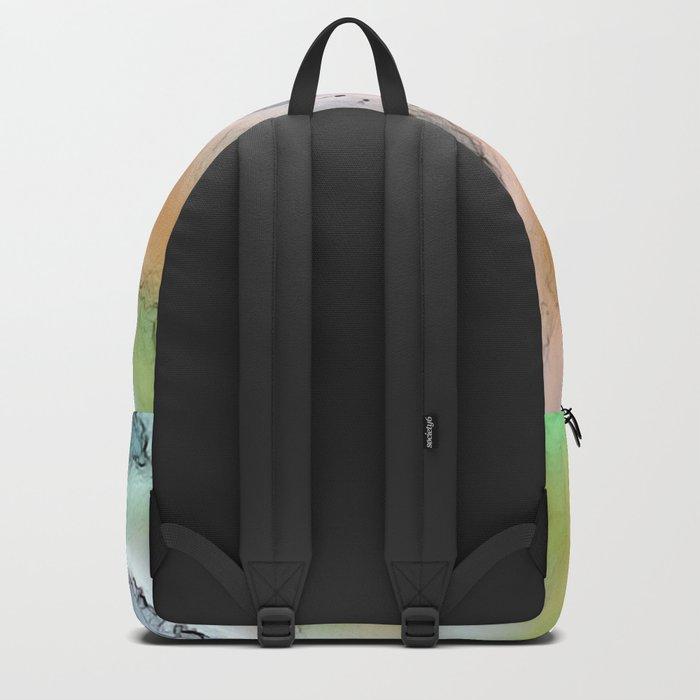 Vintage swirl Backpack