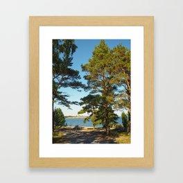 View from Sandhamn Island Framed Art Print