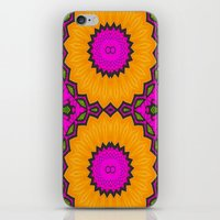 twins iPhone & iPod Skins featuring Twins by Kimberly McGuiness