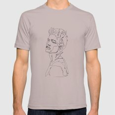 minimal drawing  Cinder Mens Fitted Tee MEDIUM