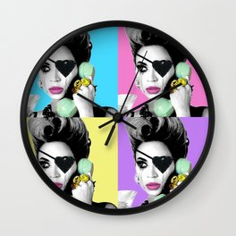 WHY DON'T YOU LOVE ME Wall Clock