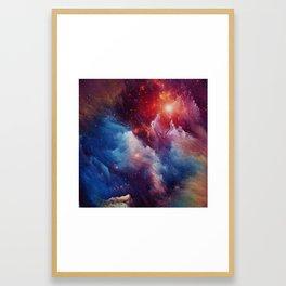 Misterious Space Framed Art Print